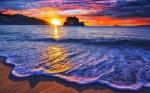 Mexico-Huatulco-Tangolunda-Sunset-Sea